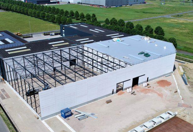 Groothuis Bouwgroep breidt De Weerd Logistics voor de tweede keer uit