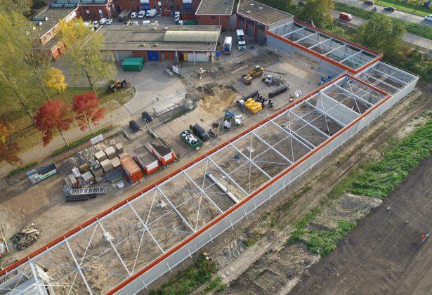 Nieuwe uitbreiding voor Stadsreiniging Almere