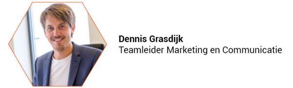Dennis Grasdijk, Teamleider Marketing & Communicatie