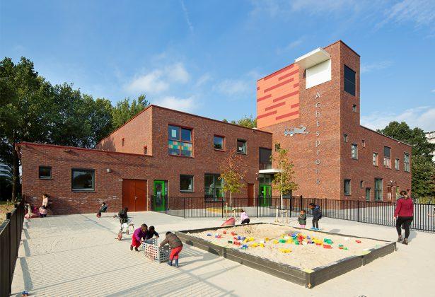 Brede school Achtsprong en gymzaal Huntum